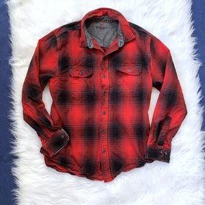 Woolrich Men's Flannel LS Button Front Shirt